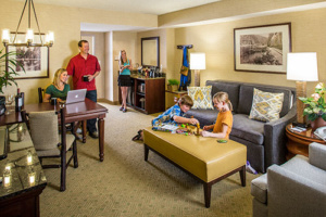 Family-friendly rooms