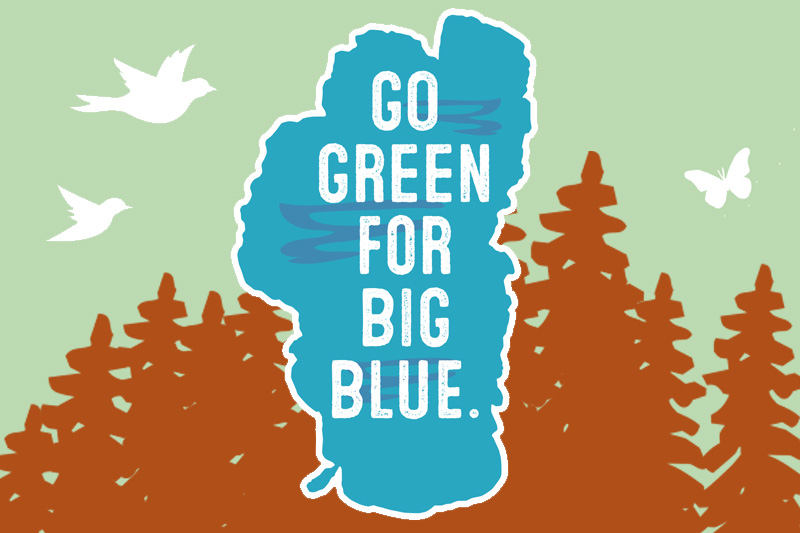 Go Green For Big Blue