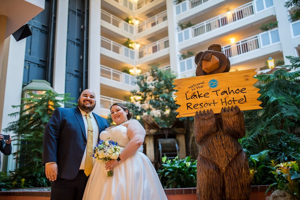 Lake Tahoe Resort Hotel Wedding