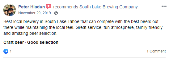 South Lake Brewing Company Review